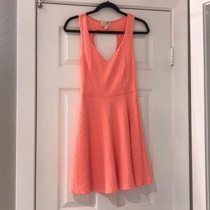 Heart design dress